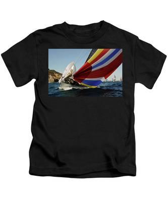 Colorful Spinnaker Run Kids T-Shirt