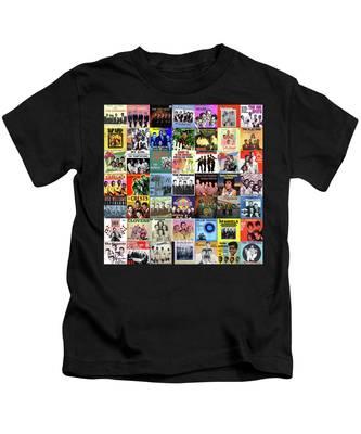 Doo Wop Singers Kids T-Shirt