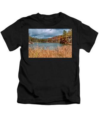 Framed Lake Kids T-Shirt