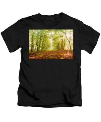 Neither Summer Nor Winter But Autumn Light Kids T-Shirt