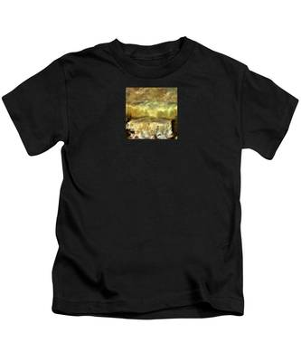 October At The Falls Kids T-Shirt