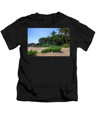 On The Coast Of Tulum Kids T-Shirt