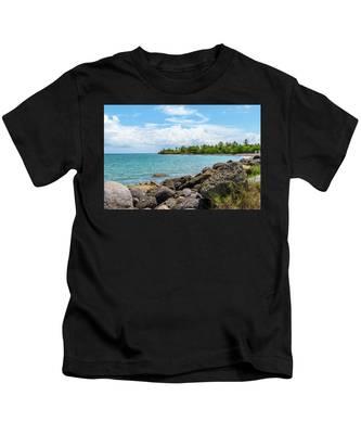Orange Bay In Portland Jamaica Kids T-Shirt