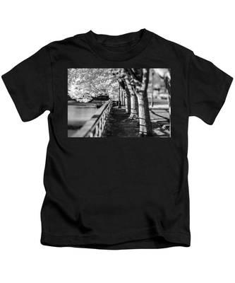 River Lines Kids T-Shirt