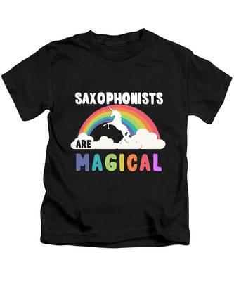 Saxophonist Kids T-Shirts
