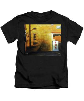 Shadows On The Wall Kids T-Shirt