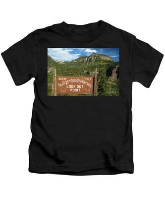 Switzerland Of America Kids T-Shirt