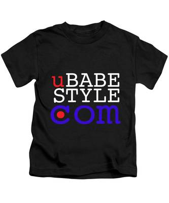 Ubabe Style Dot Com Kids T-Shirt