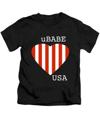uBABE USA Kids T-Shirt