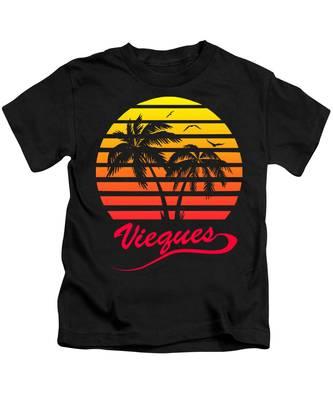 Puerto Rico Kids T-Shirts