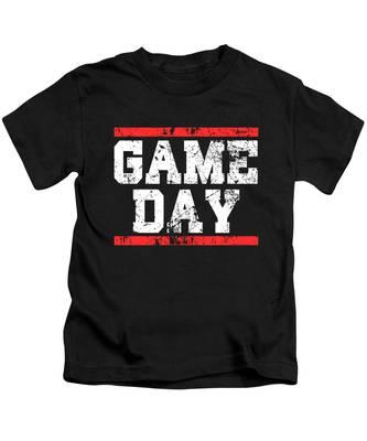 Baseball Game Kids T-Shirts