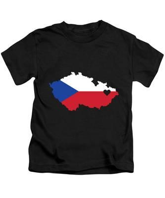 Czech Republic Kids T-Shirts