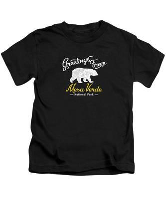 Mesa Verde National Park Kids T-Shirts