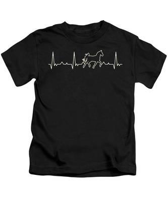Black Horse Kids T-Shirts