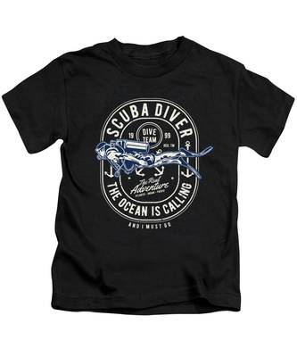 Pacific Ocean Kids T-Shirts