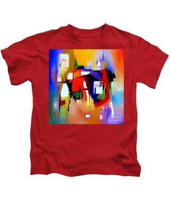 Abstract Series Iv Kids T-Shirt