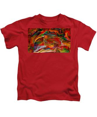 Rainbow Blossom Kids T-Shirt