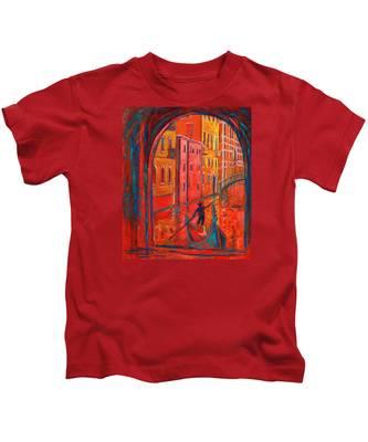 Venice Impression Viii Kids T-Shirt