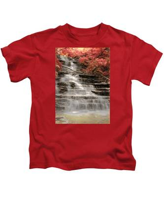 Buttermilk Falls Kids T-Shirt