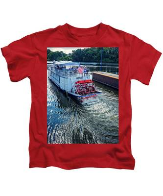 Champlain Canal Patriot Kids T-Shirt