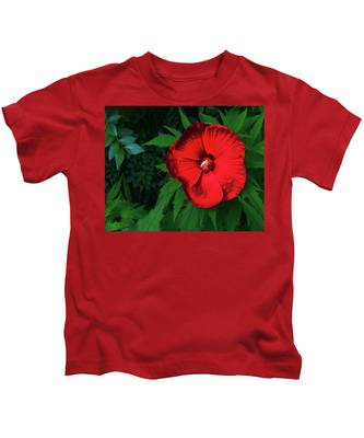 Dynamic Red Kids T-Shirt