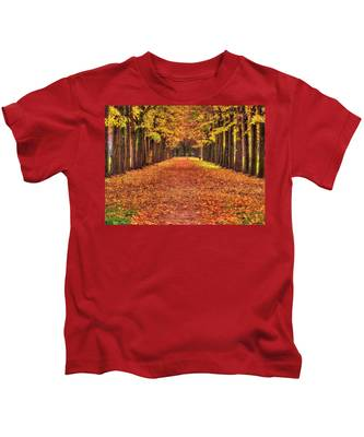 Fall Colors Avenue Kids T-Shirt
