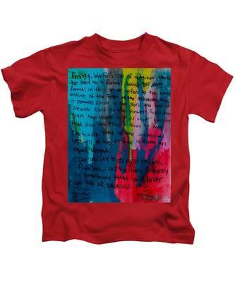 Inspiration From Warhol Kids T-Shirt