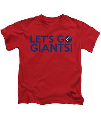 Let's Go Giants Kids T-Shirt