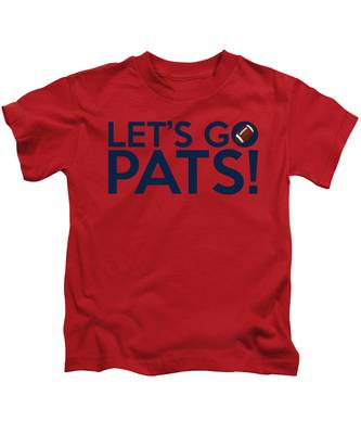 Let's Go Pats Kids T-Shirt