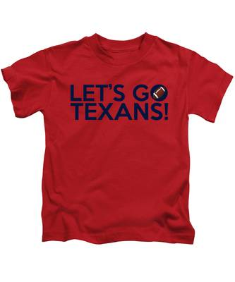 Let's Go Texans Kids T-Shirt