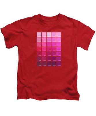 Color Chart Kids T-Shirts