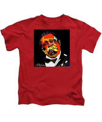 tribute to BB King reworked Kids T-Shirt