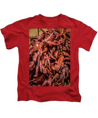 Hot Spicy Peppers Kids T-Shirt