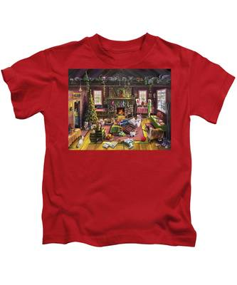 The Micey Christmas Heisty Kids T-Shirt