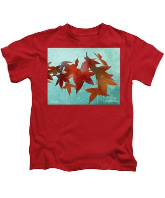The Red Leaves Kids T-Shirt