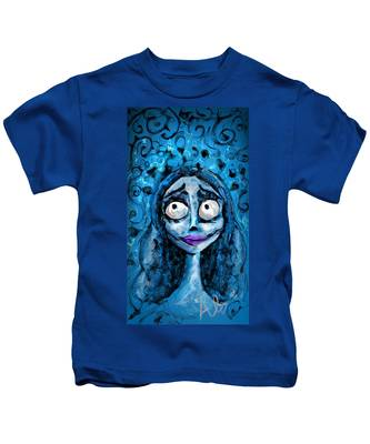 Corpse Bride Phone Sketch Kids T-Shirt