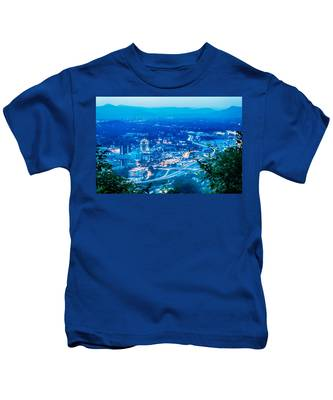 Scenics Around Mill Mountain Roanoke Virginia Usa Kids T-Shirt