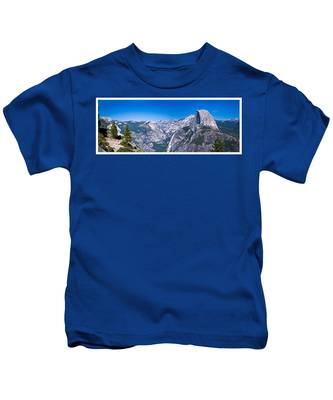 Yosemite Valley From Glacier Point Kids T-Shirt