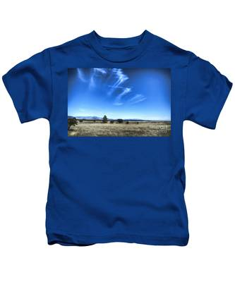 Point Of Pines - San Carlos Indian Reservation Kids T-Shirt