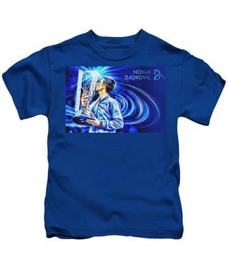Novak Djokovic Kids T Shirts Fine Art America