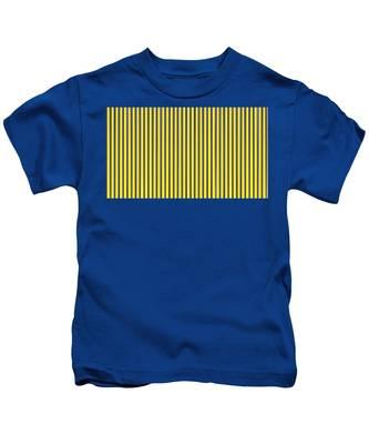 Check Pattern Kids T-Shirts