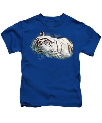 Blue Eyes Kids T-Shirt