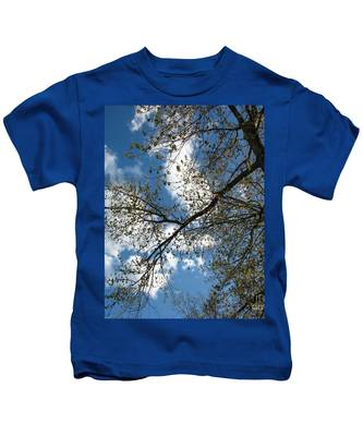 Blue Skies Kids T-Shirt