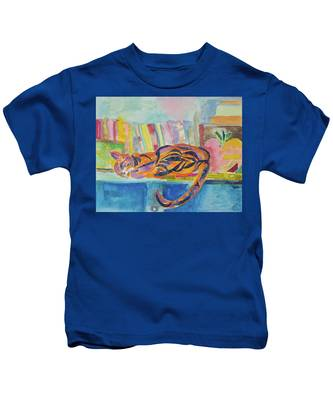 Cat Nap Kids T-Shirt
