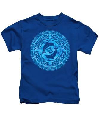 Celtic Dolphins Kids T-Shirt