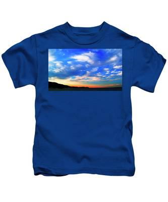 Estuary Skyscape Kids T-Shirt