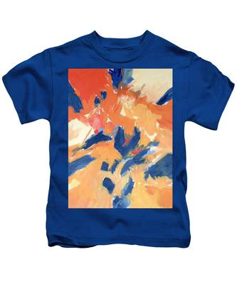 Fleeing Crows Kids T-Shirt