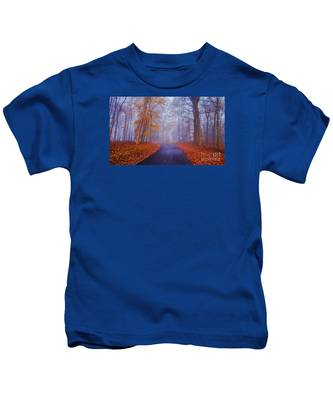 Journey Continues Kids T-Shirt