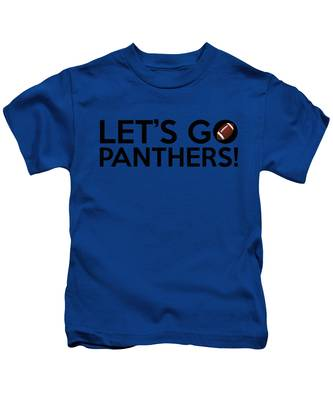 Let's Go Panthers Kids T-Shirt