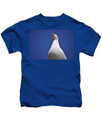 Kids T-Shirt featuring the photograph Noble by Bridgette Gomes